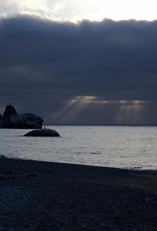 Sunset at Parson's Landing, Catalina Island